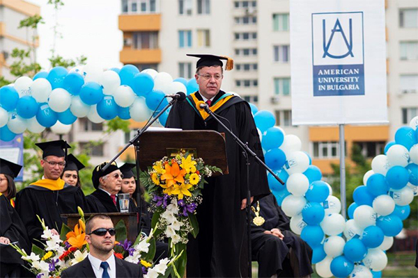 featured image for Manev completes tenure as chair of the American University in Bulgaria Board of Trustees