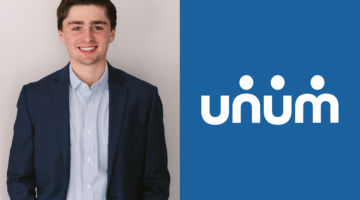 Tate Porter interned at Unum