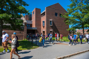 There are about 1,200 undergraduate students at the Maine Business School