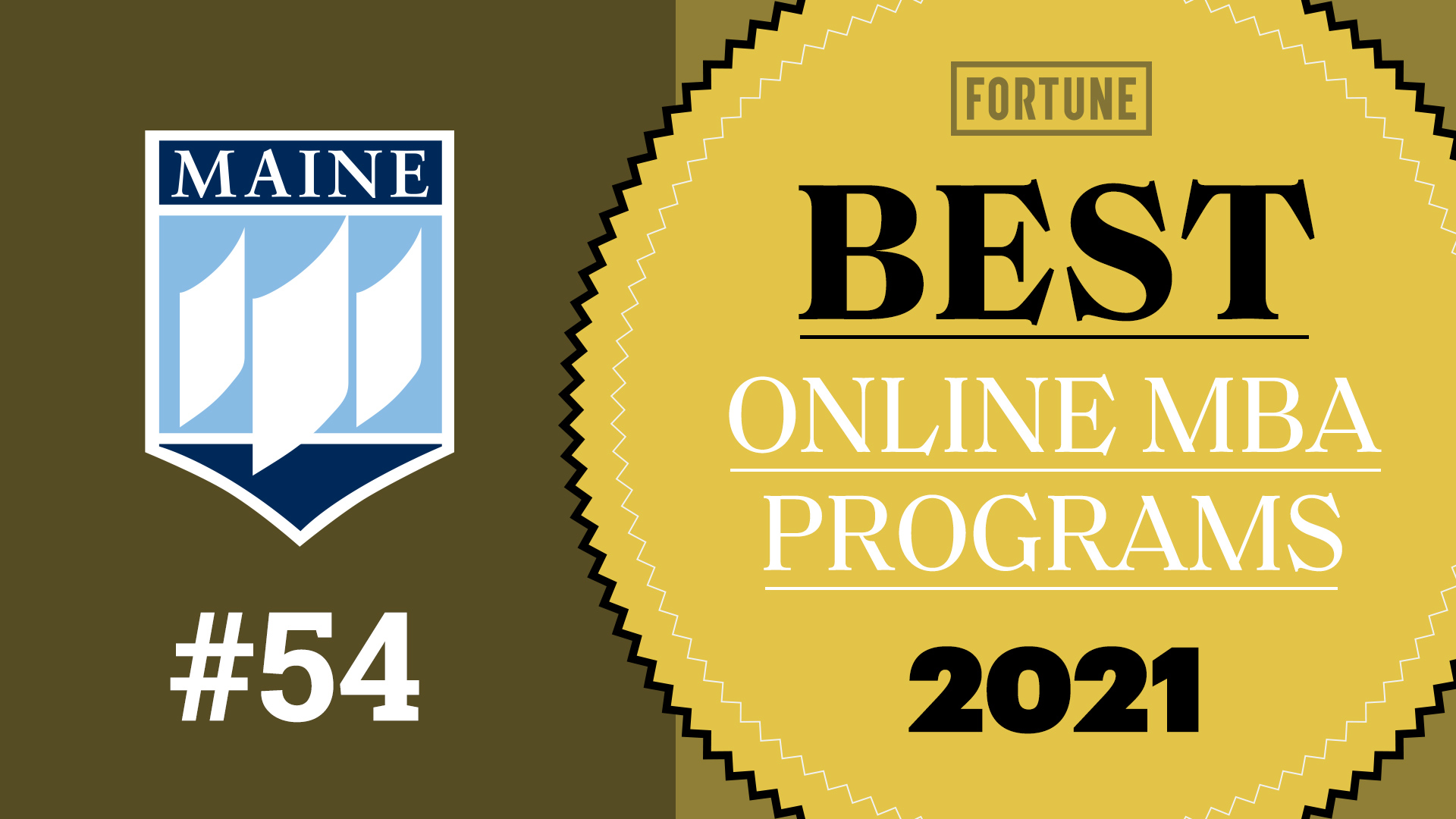 featured image for MaineMBA Ranked Top 100 by Fortune Magazine