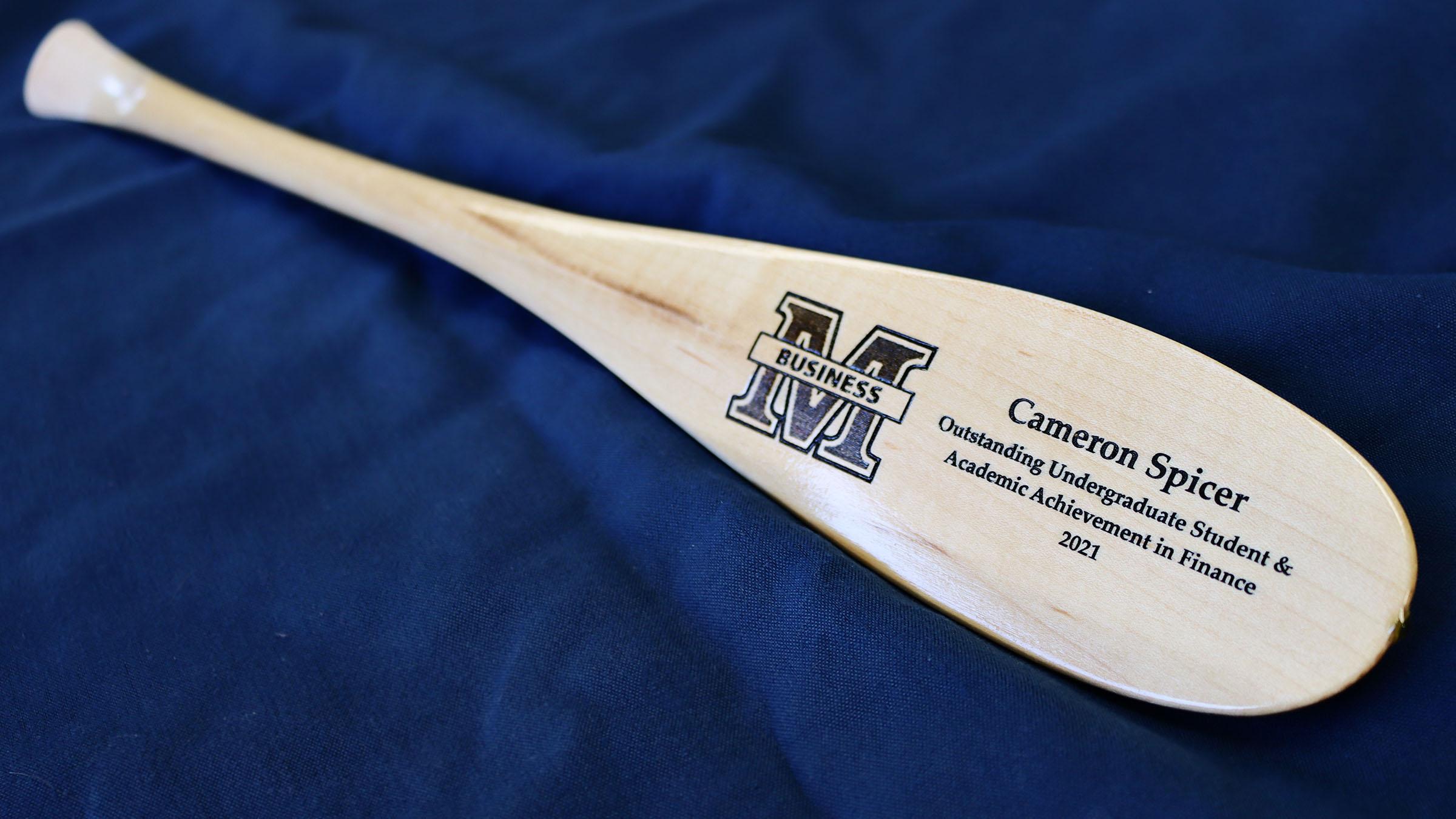 Award paddle
