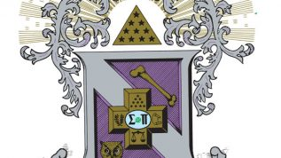 crest of Sigma Pi fraternity