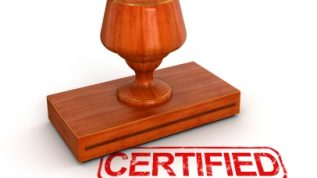 certification stamp