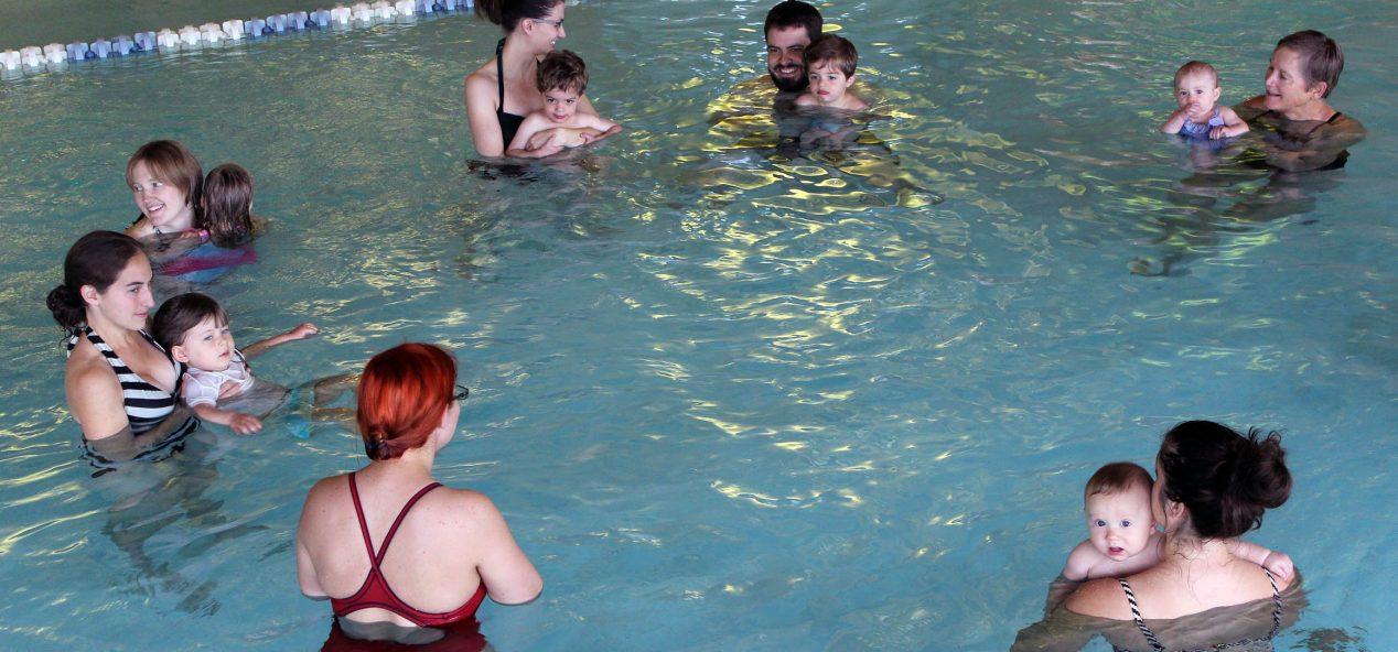 little splashers group swim lesson
