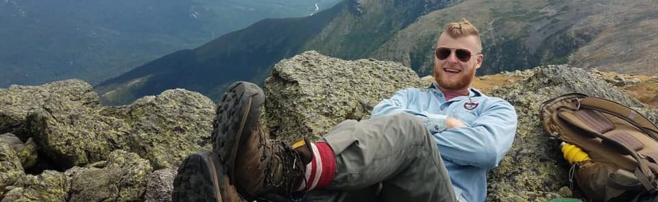 Hiking Student Relaxing