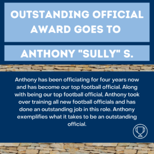 outstanding IM official Sully S.