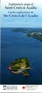Explanatory maps of Saint Croix & Acadia/Cartes explicatives de Ste-Croix & de l'Acadie