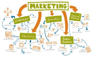 Marketing & Communications Infographic