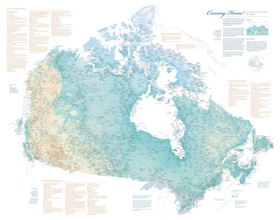 Small Map Of Canada.Coming Home Map Canadian American Center University Of Maine