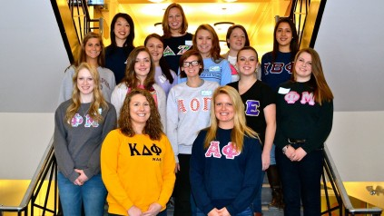 Members of the Panhellenic Council