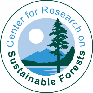 Center for Research on Sustainable Forests logo