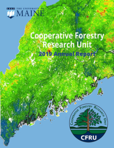 Cover of 2019 CFRU annual report