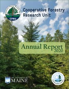 Cover of 2020 CFRU annual report