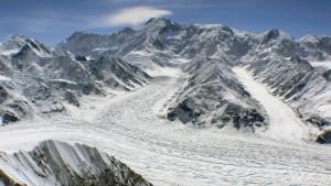 Inilchek Glacier