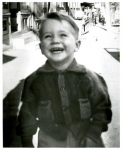 William Sebastian Cohen at age three