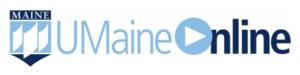 image of UMaine online logo