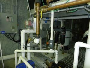 Aquaculture system filters