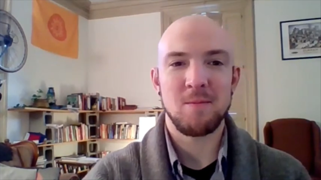 Doctoral Psychology Intern Dave McNew, MA, Cultivating Calm Workshop Series