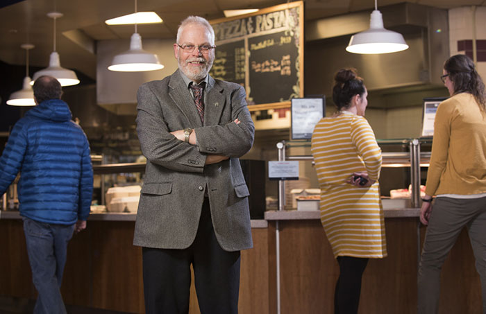 Director of Dining, Glenn Taylor