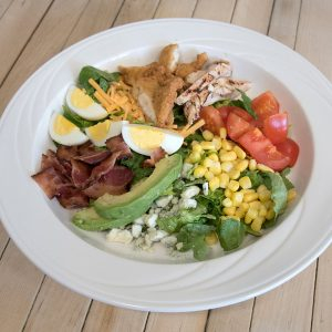 Cobb Salad, test kitchen, University of Maine Dining