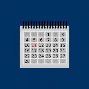 wall calendar clip art