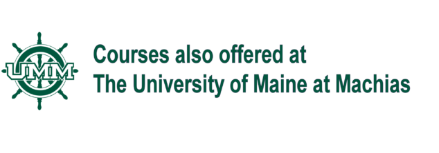 logo for UMM with text