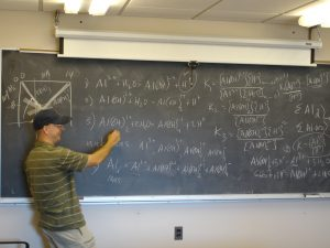 notes on the blackboard
