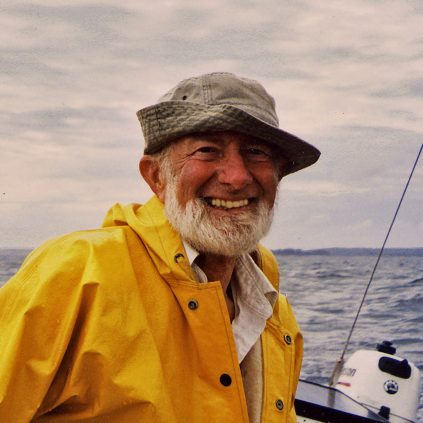 Roger Hooke sailing