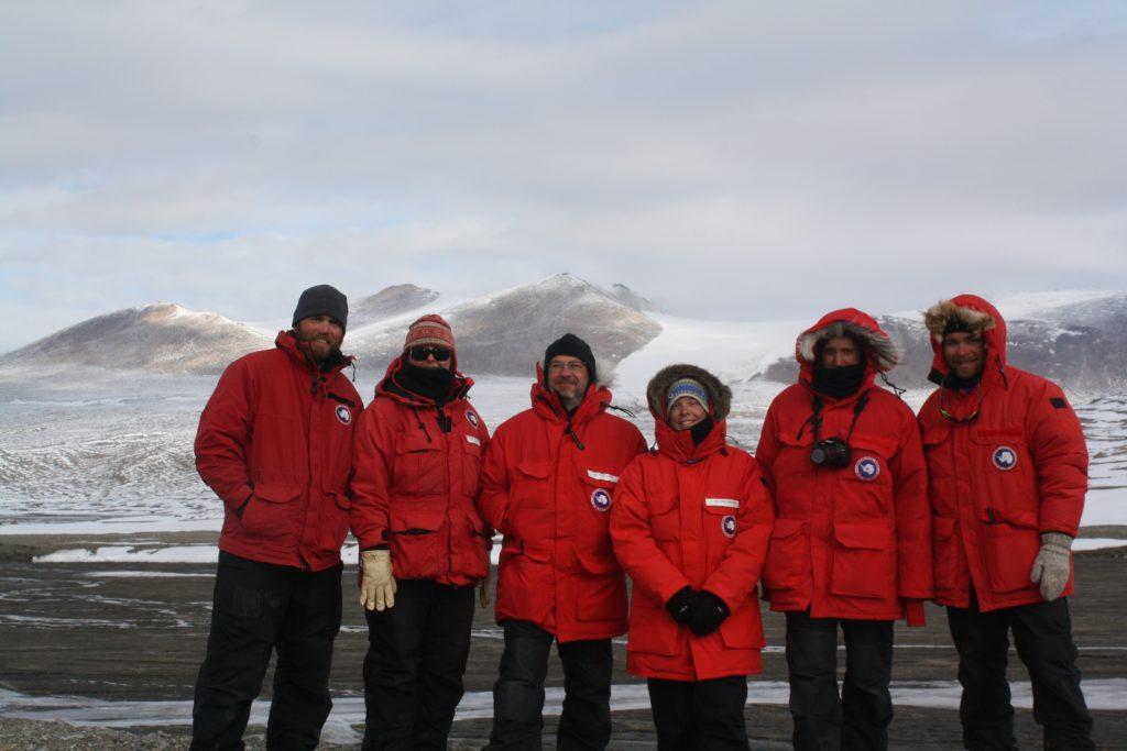 Left to right. Scott Braddock, Brenda Hall, Paul Koch, Rachel Brown, Audra Norvaisa, Jon Nye