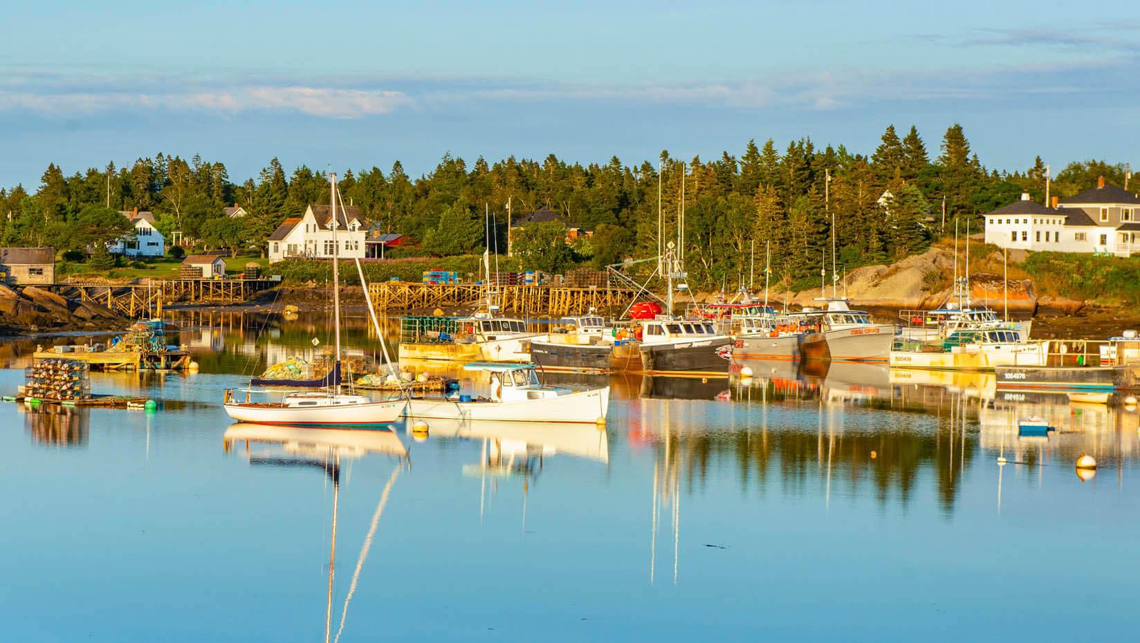 Maine Sea coast