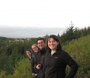 An EES student spent a semester in Iceland through C.E.L.L.