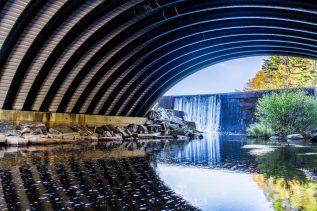 Photo of bridge in Belfast, Maine