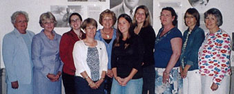 Maine Literacy Partnership Coaches group photo at graduation