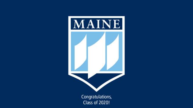 UMaine logo blue Class of 2020