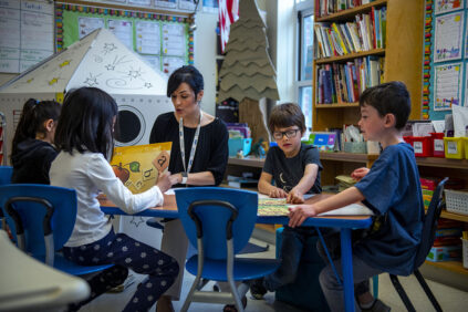 Literacy coach Old Town Elementary School