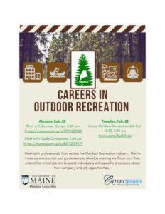Outdoor Career Event - 2021