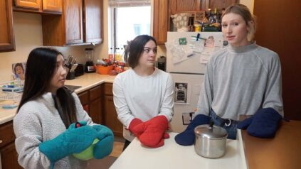 Athletes for sexual responsibility cooking video