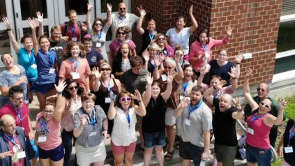 Group of Ed Tech Summer Institute Attendees