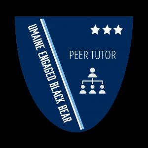 Peer Tutor Level 3 Badge
