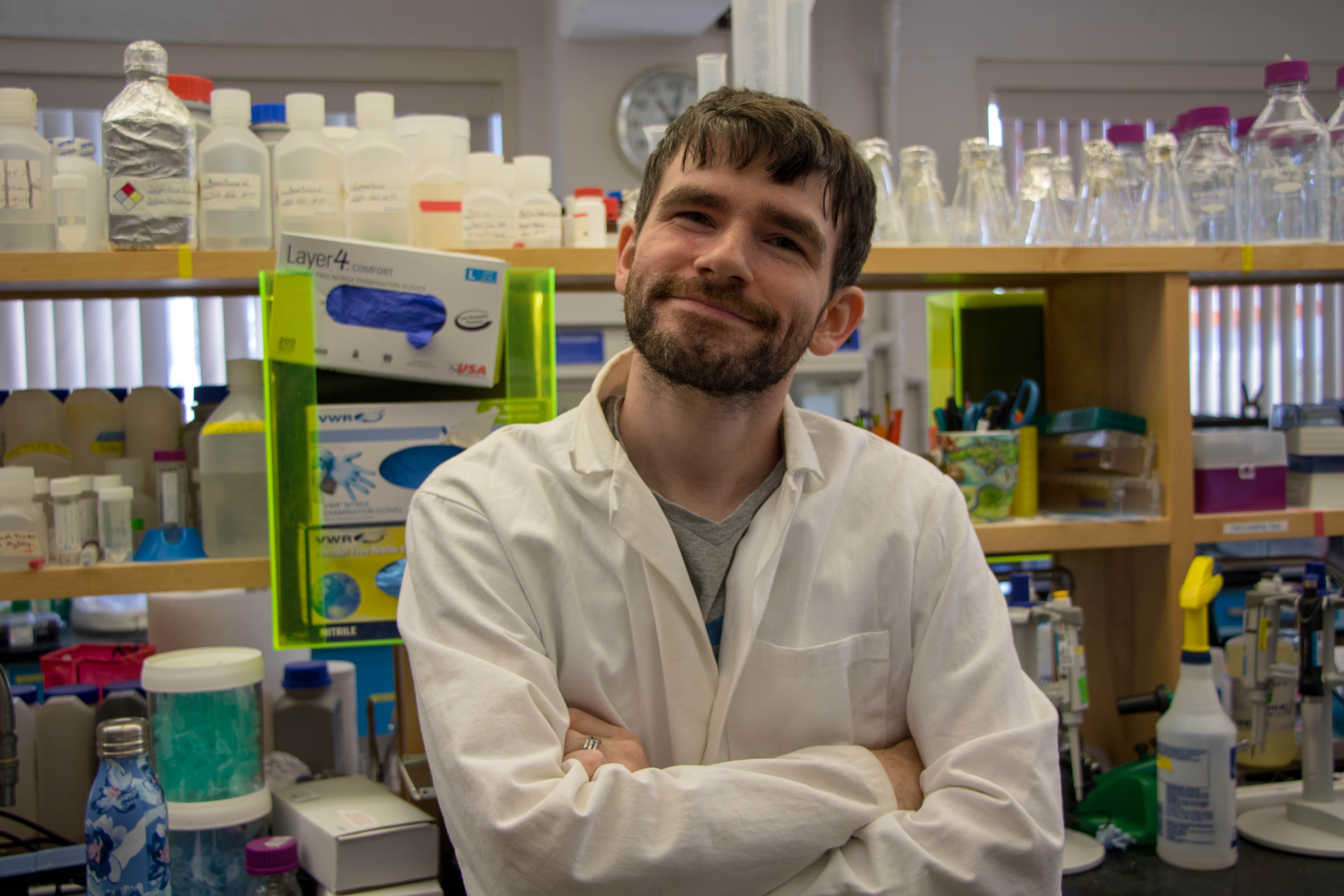 featured image for Researcher of the Week: Brian Preziosi