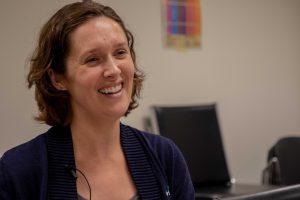 Portrait of Samantha Lott Hale , Girl Scouts of Maine Program Director and Regional Office Supervisor