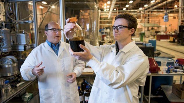 photo of scientists at FBRI lab