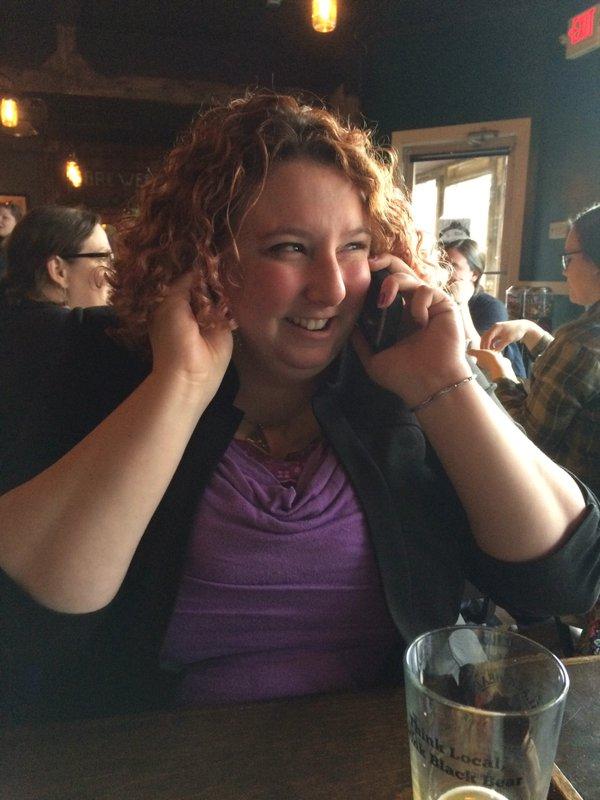 Heather Arnett on Phone