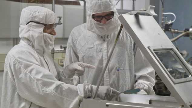 Photo of cleanroom