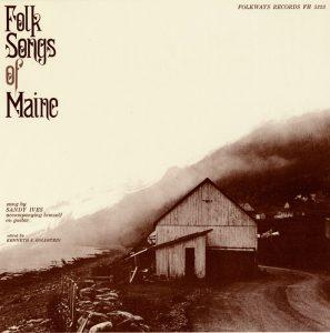 album cover for 'folk songs of maine'