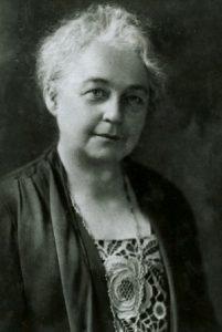 P00340 Facial view of Fannie Hardy Eckstorm. c1930-1940