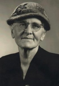 Photo of a woman in a hat