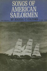 Songs of American Sailormen book cover