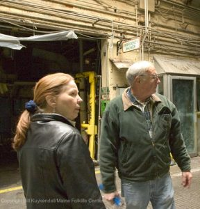 Pauleena MacDougall interviews Richard Smith at Eastern Fine Paper Company in 2004.