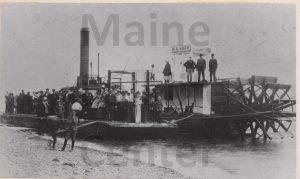 P00688 Steamboat on Spednic Lake
